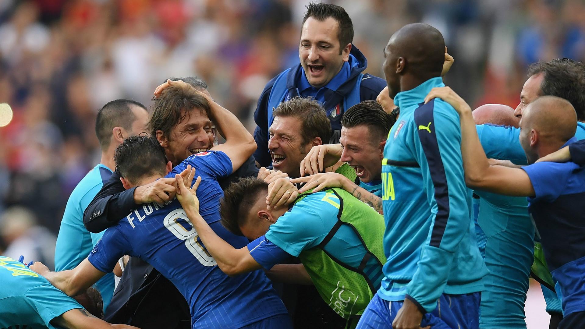 Italy Spain EURO 2016