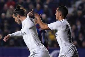 Bale Lucas Vázquez Levante Real Madrid LaLiga