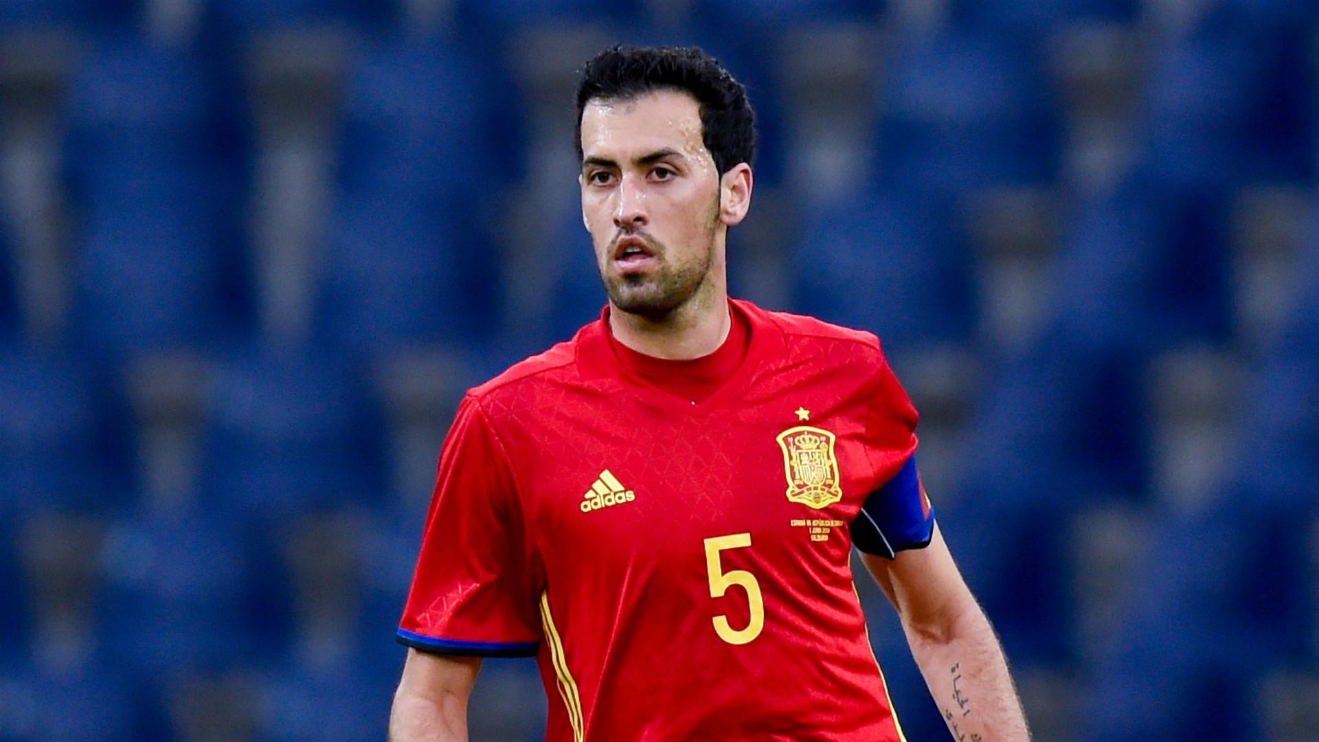 HD Sergio Busquets Spain