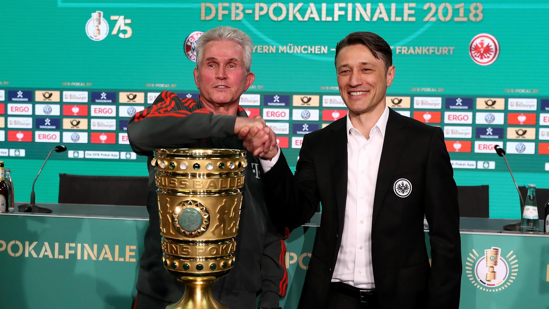 Jupp Heynckes Niko Kovac Bayern Munchen Eintracht Frankfurt DF