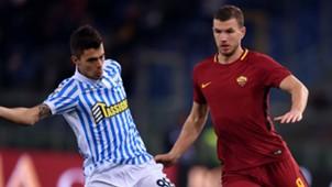 Grassi Dzeko Roma SPAL Serie A