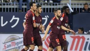 Malaga Barcelona LaLiga