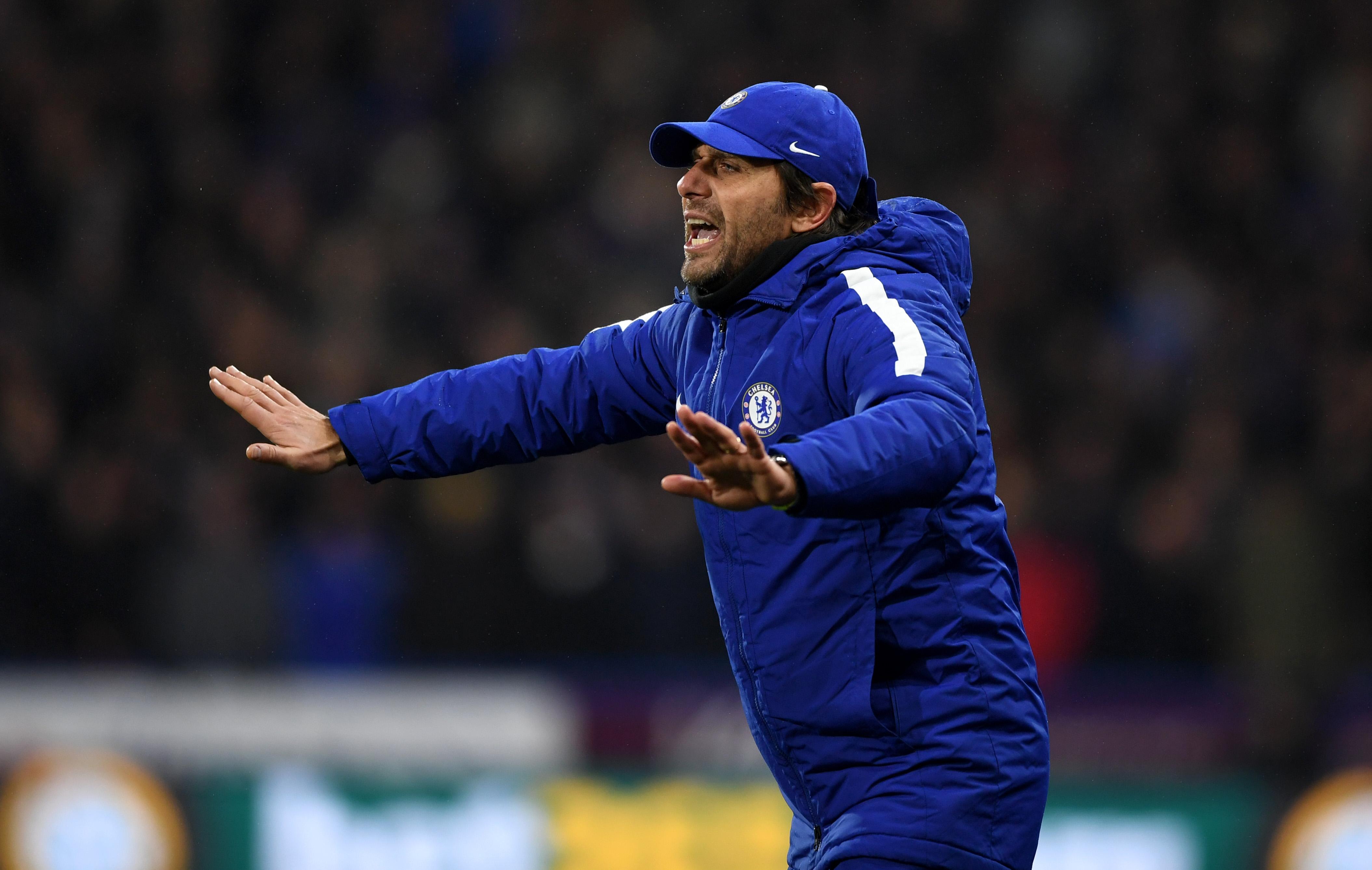 Antonio Conte Chelsea Premier League 12122017