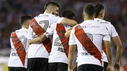 Lucas Pratto Juan Fernando Quintero Leonardo Ponzio River Plate Emelec 26042018
