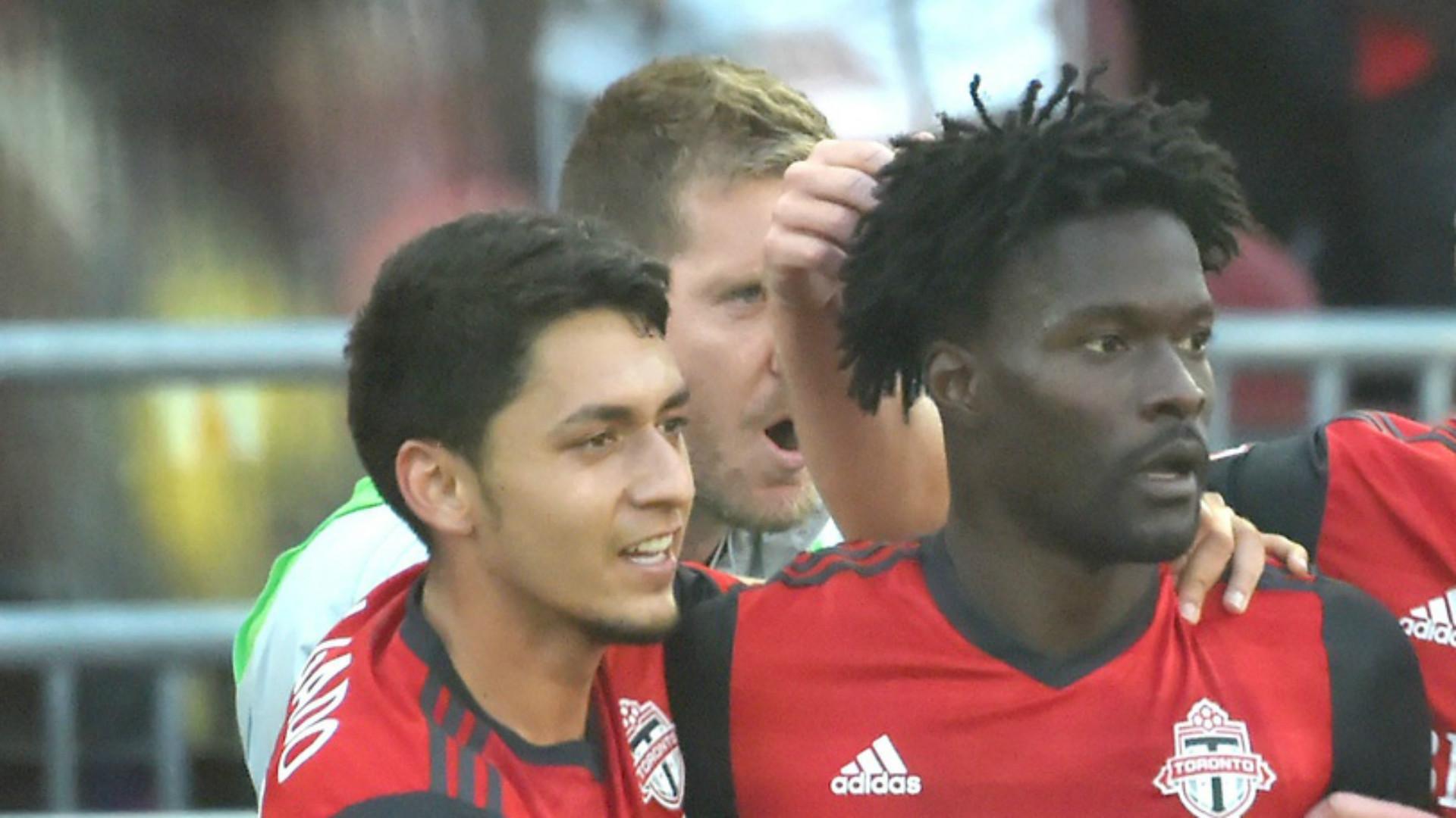 Marky Delgado Tosaint Ricketts MLS Toronto FC 05132017