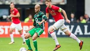 Karim El Ahmadi, AZ - Feyenoord, Eredivisie 10012017