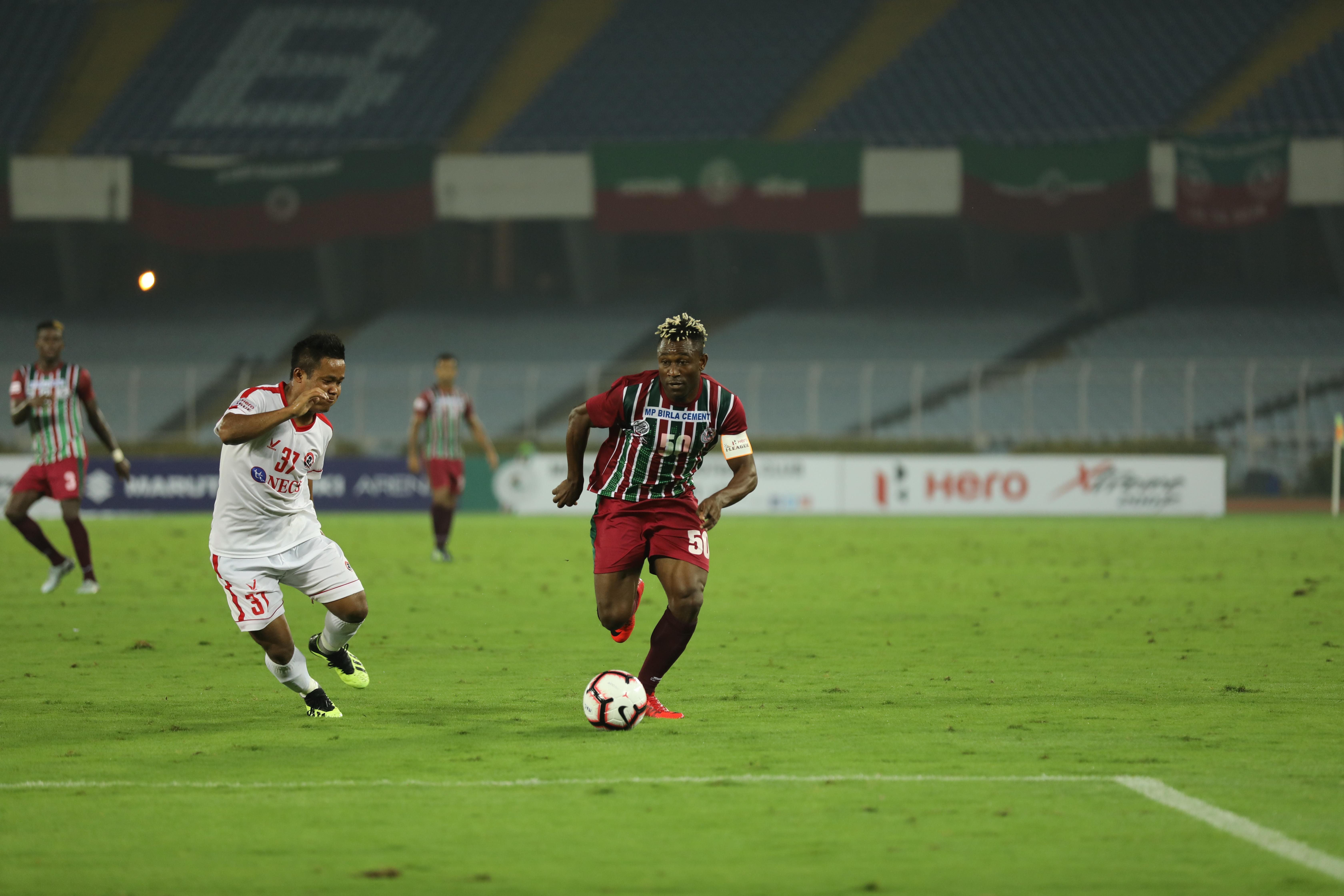 Sony Norde Mohun Bagan Aizawl FC I-League 2018-19