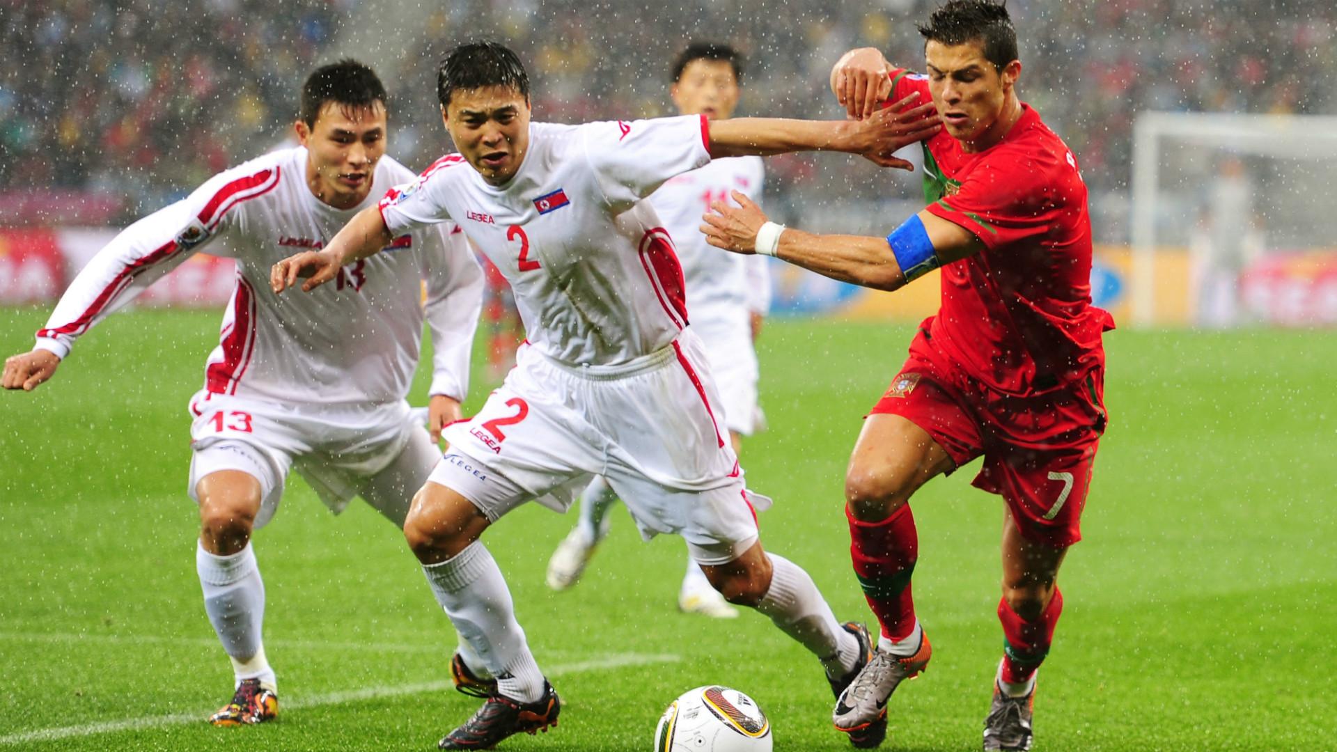Cristiano Ronaldo Portugal Corea del Norte Copa del Mundo 2010