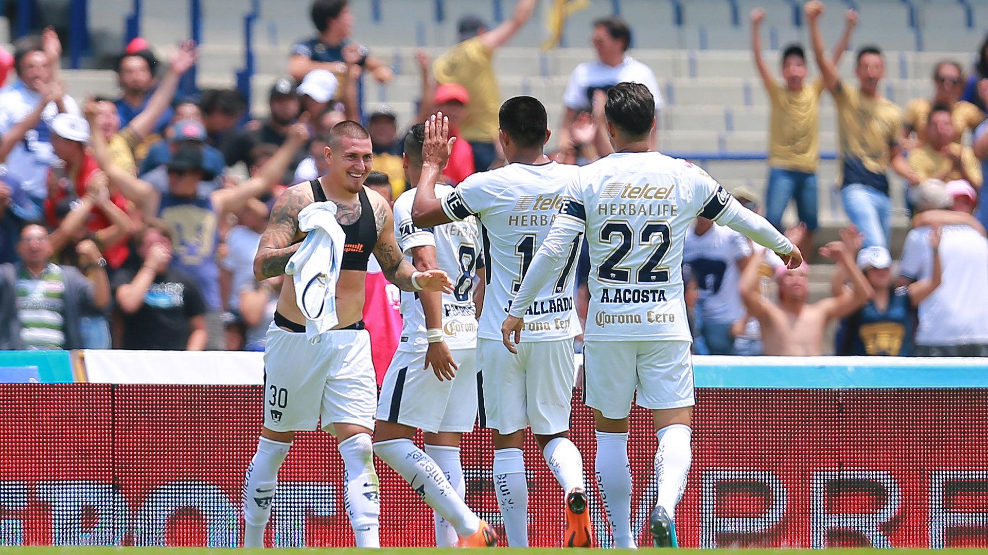 Pumas Liga MX Clausura 2018