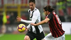 Bentancur Ricardo Rodriguez Milan Juventus Serie A