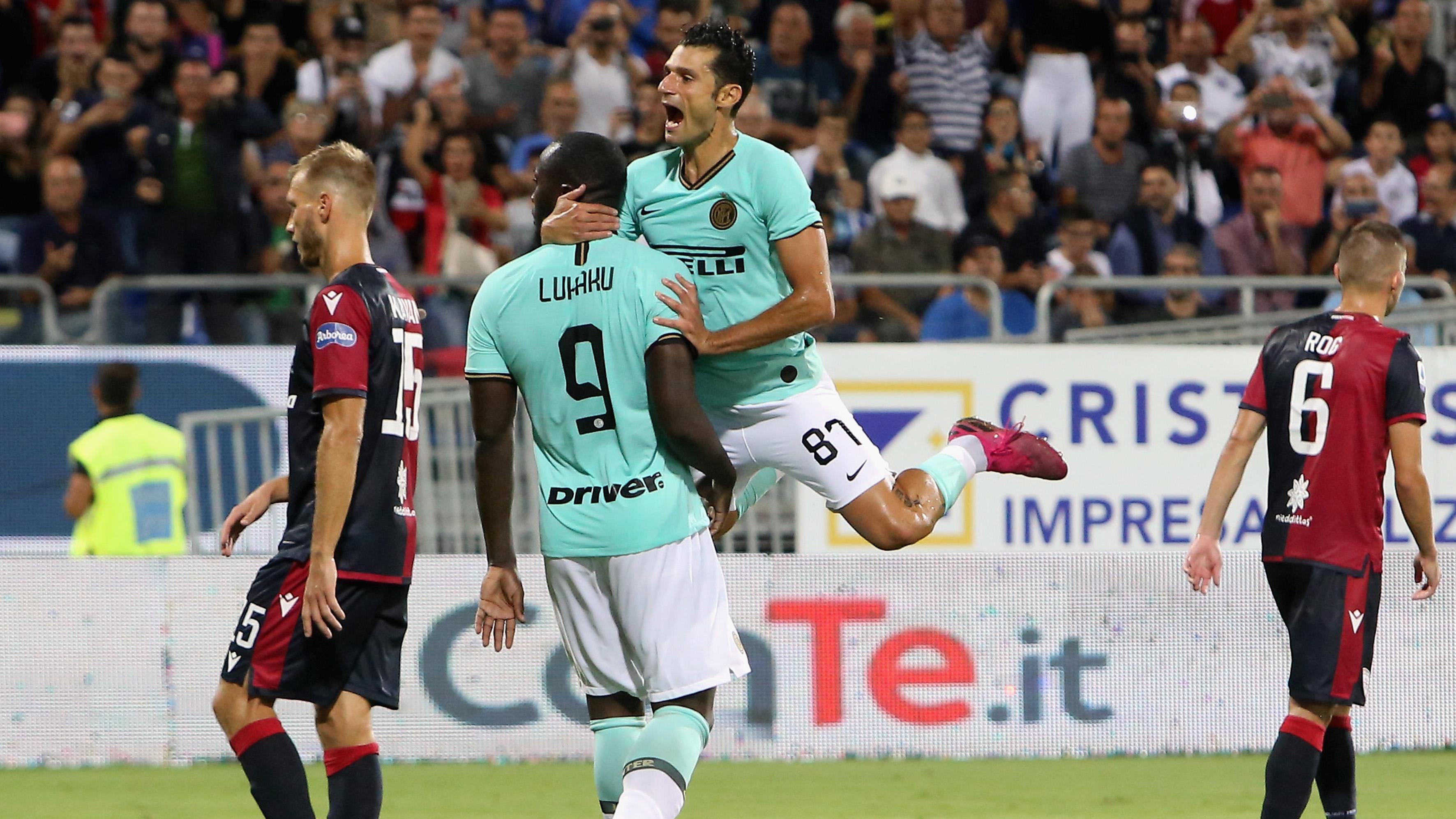 Romelu Lukaku Inter 2019