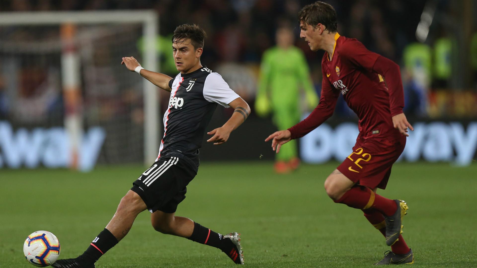 Roma-Juventus Dybala Zaniolo