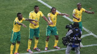 Sisphiwe Tshabalala South Africa Mexico World Cup 2010