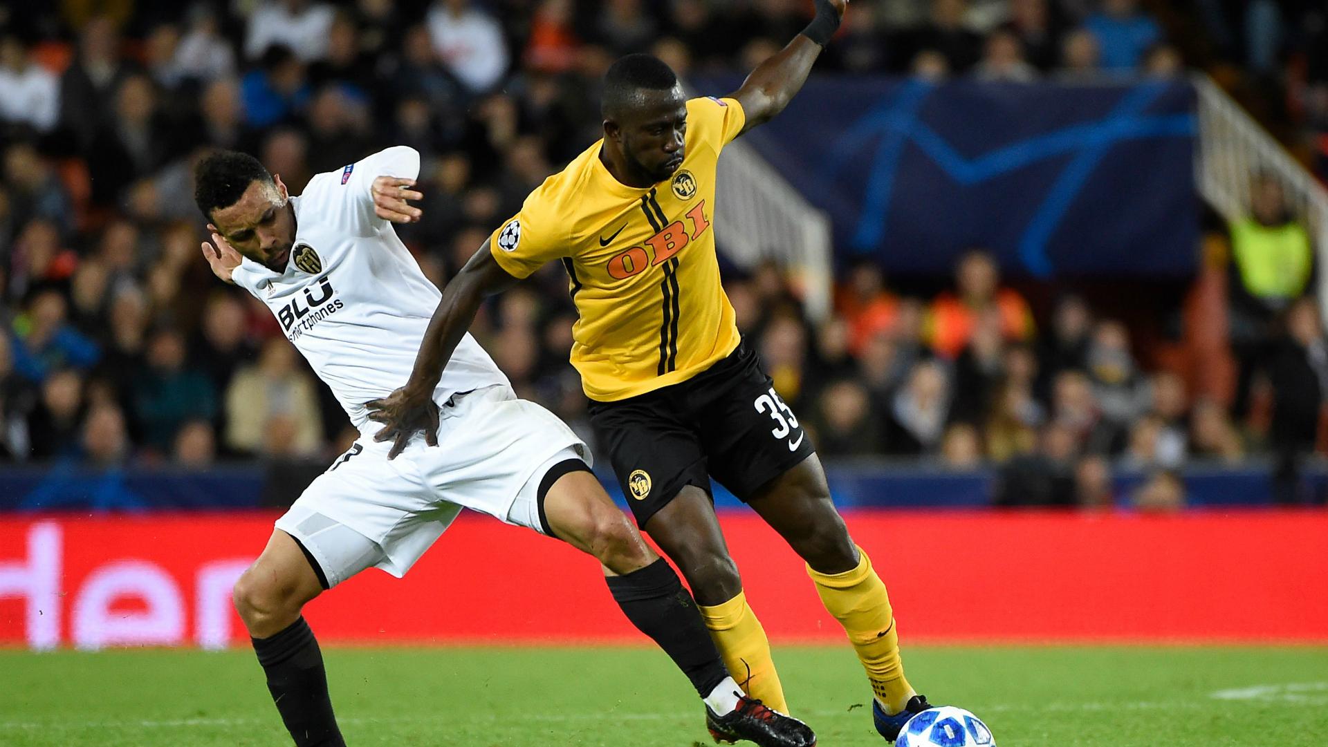 Sekou Sanogo Young Boys Man United Champions League 2018