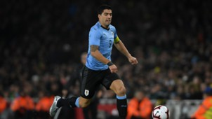 Luis Suarez Brazil Uruguay Friendlies 16112018