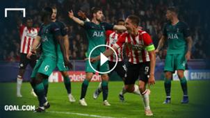 Luuk de Jong PSV Spurs