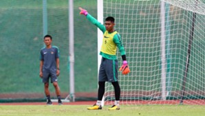 Kurniawan Kartika Ajie - Latihan Timnas Indonesia U-23