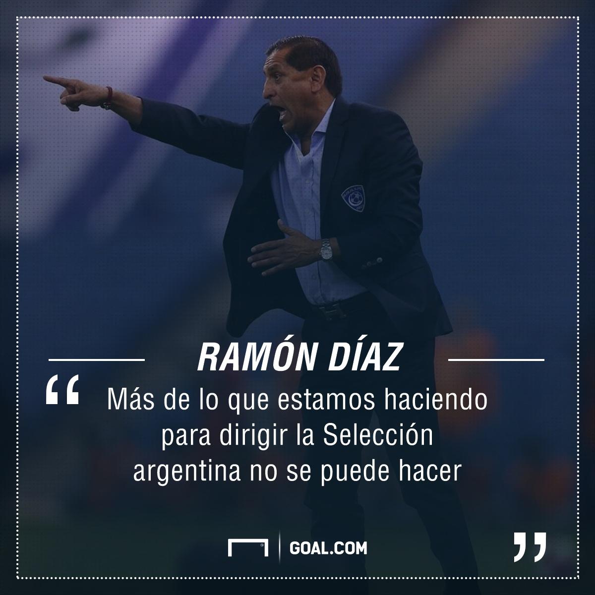 PS Ramon Diaz Seleccion Argentina