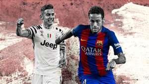 GFX Juventus-Barcellona