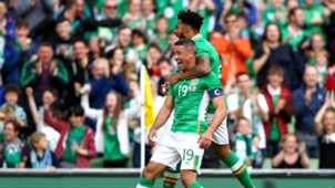 Jon Walters Cyrus Christie Republic of Ireland Uruguay 04062017
