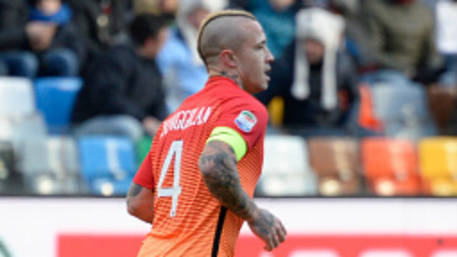 Radja Nainggolan Udinese Roma Serie A