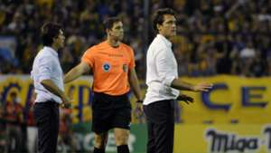 Gustavo y Guillermo Barros Schelotto Rosario Central Boca Superliga Argentina 26112017