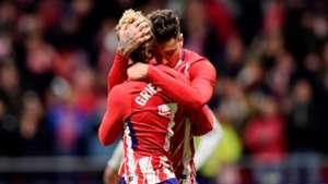 Antoine Griezmann Jose Gimenez Atletico de Madrid 02122017 LaLiga