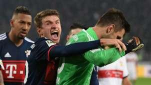 Thomas Muller Stuttgart Bayern Munich