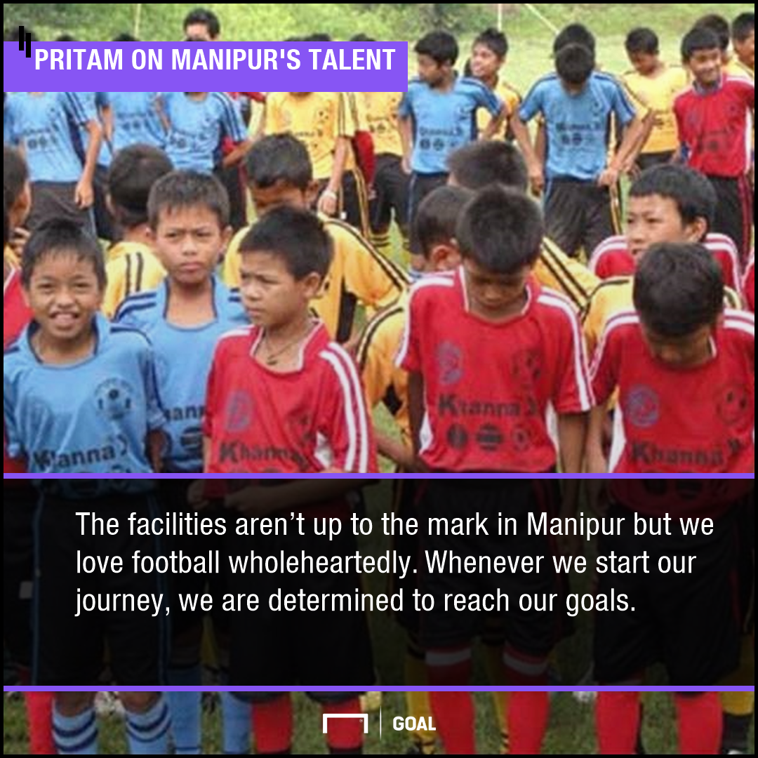 Pritam Singh on Manipur football