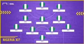 Predicted Nigeria XI