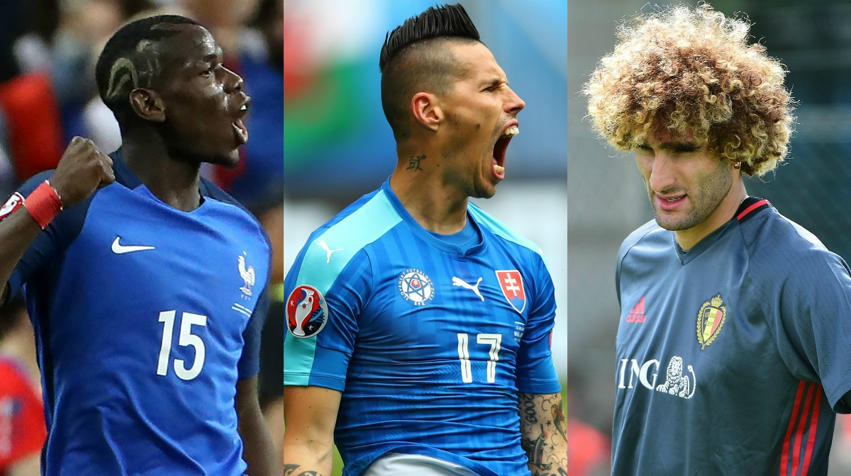The best hairstyles on show at Euro 2016