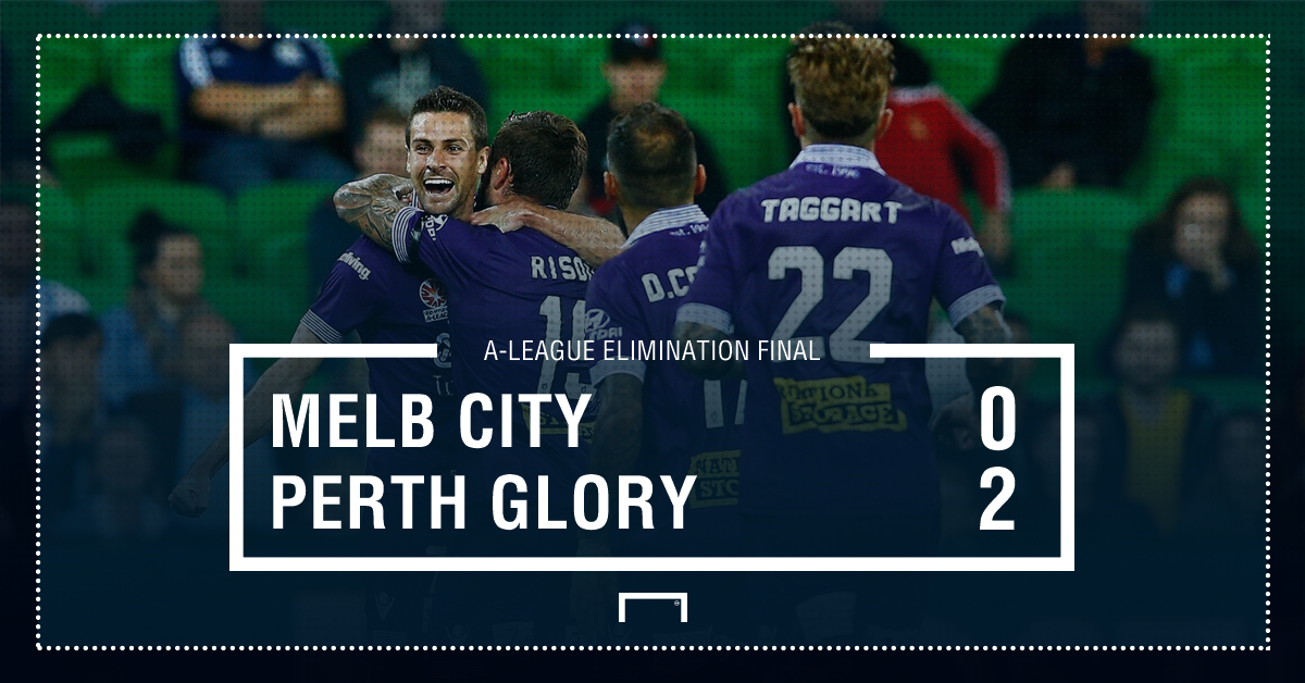 GFX Melbourne City 0-2 Perth Glory