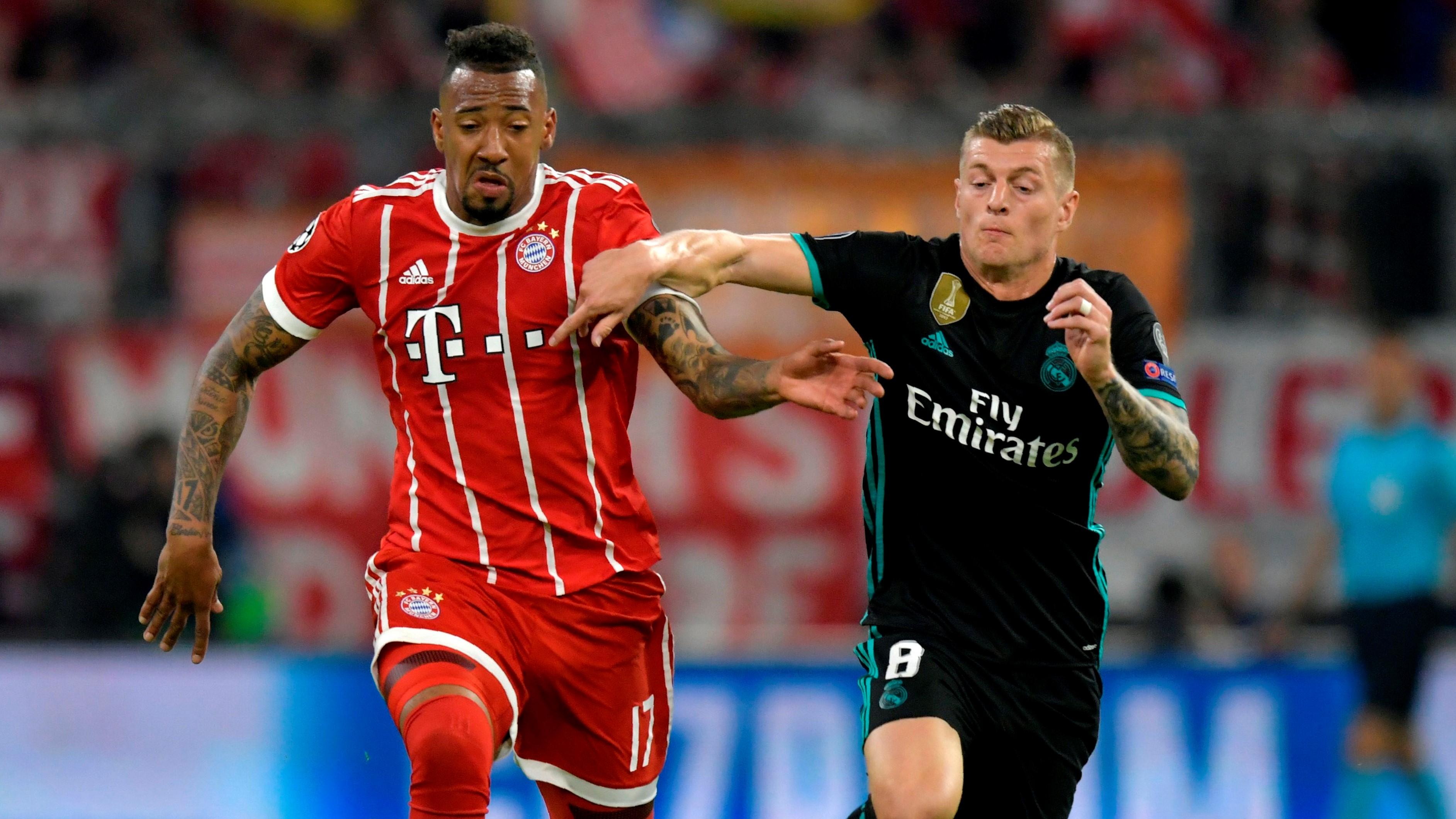 Jerome Boateng Toni Kroos Bayern Munich Real Madrid UCL 25042018