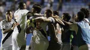 Vasco comemora Copa São Paulo semifinal Corinthians 22012019