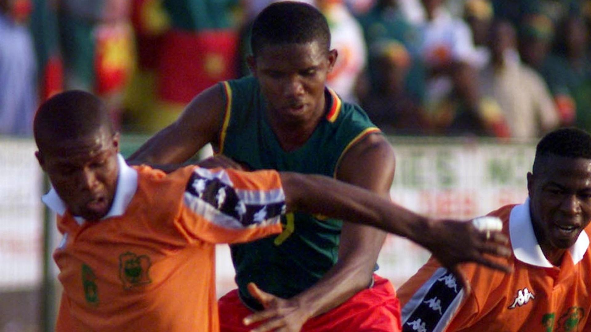 Samuel Eto'o Camarões 2002 08 11 2017