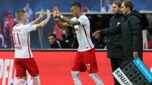 Davie Selke Timo Werner RB Leipzig Bundesliga 102316