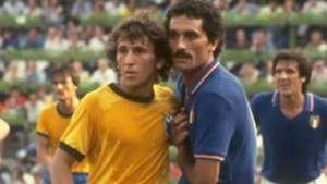 Zico Gentile Brasil Italia Copa do Mundo 1982