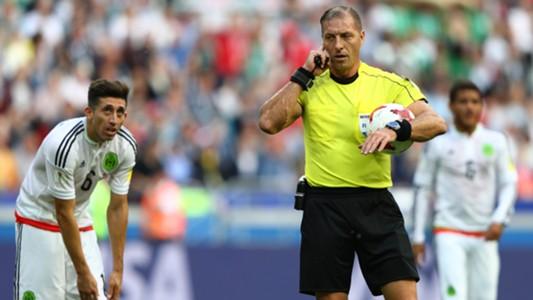 Nestor Pitana Confed Cup 2017 Portugal Mexico