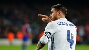 Sergio Ramos Real Madrid Napoli Champions League