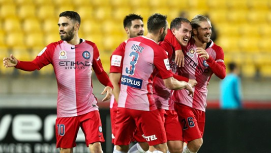 Neil Kilkenny Wellington Phoenix v Melbourne City A-League 1802017