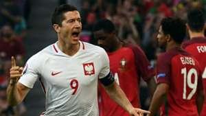 Lewandowski Poland Portugal Euro 2016