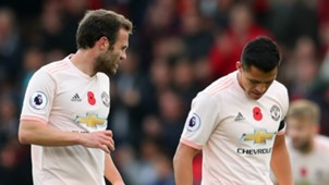 Juan Mata Alexis Sanchez Manchester United 2018-19