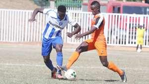 AFC Leopards v Fosa Junior in Kakamega.