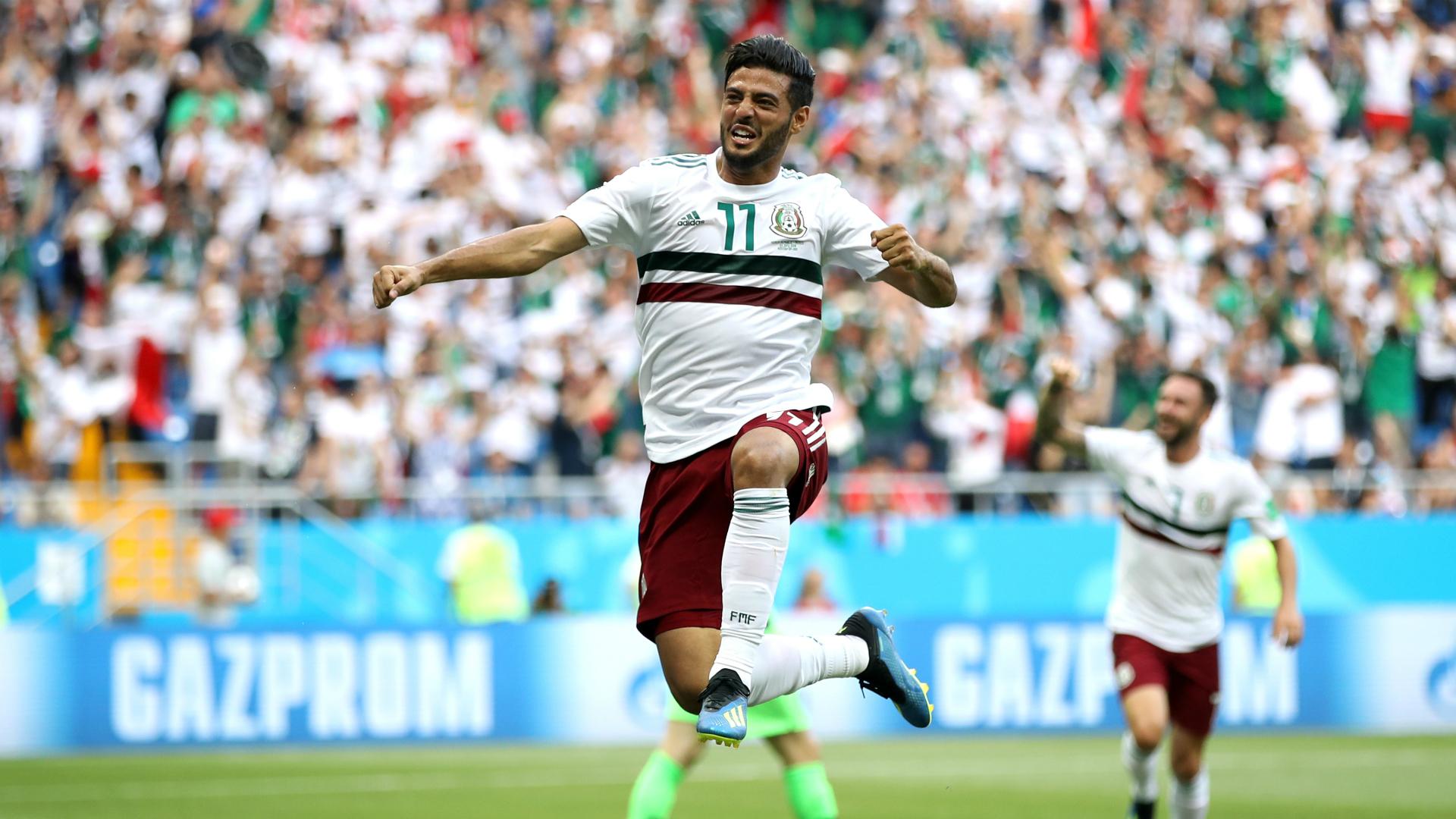Carlos Vela México Corea WC 2018
