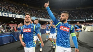 Dries Mertens Lorenzo Insige Napoli Liverpool UEFA Champions League 03102018