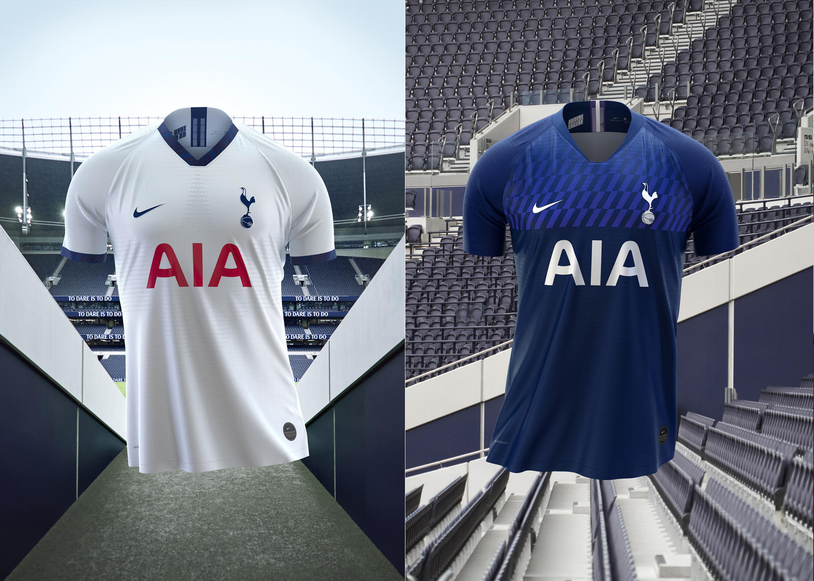 cdd8ddaca470b Tottenham Home and Away Kits 2019-20 - Nike News