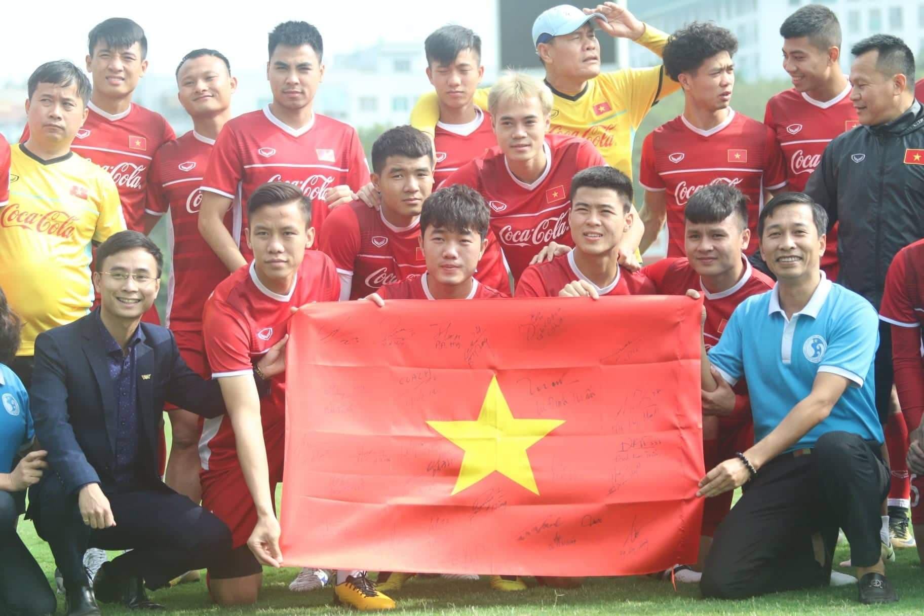 Vietnam training Asian Cup 2019 (2)