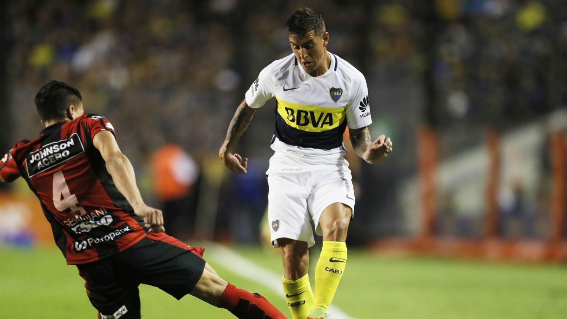 Nazareno Solis Boca Juniors Patronato Primera Division Argentina 16042017