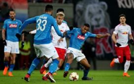 Allan Raul Albiol RB Leipzig Napoli UEFA Europa League 02222018