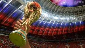 FIFA 18 simulación Mundial